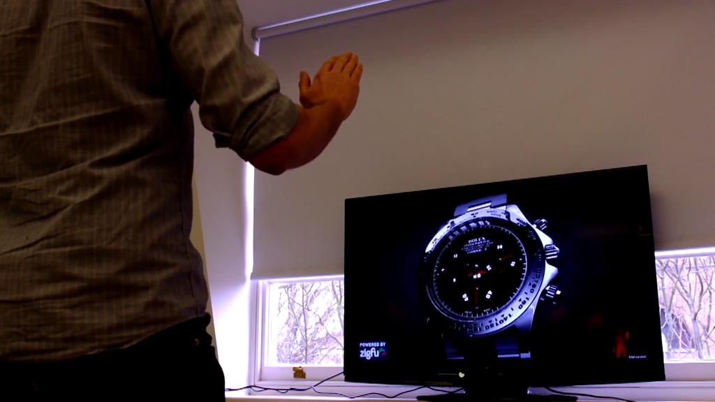 Kinect Watch Prototype