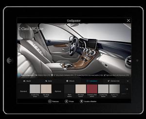 Mercedes-Benz C-Class App Configurator