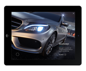 Mercedes-Benz C-Class App  Feature